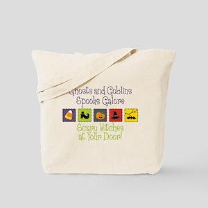 Spooks Galore Tote Bag