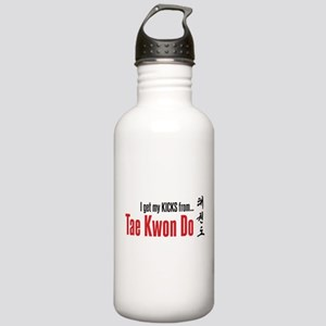 I get my KICKS from Tae Kwon Do Stainless Water Bo