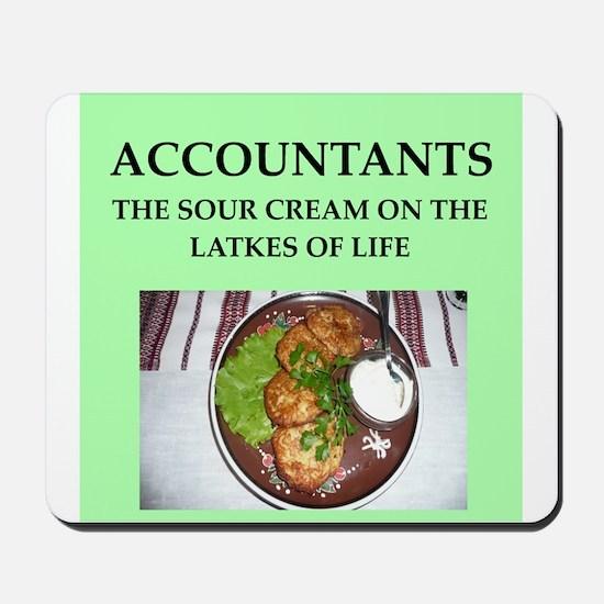 accountant Mousepad