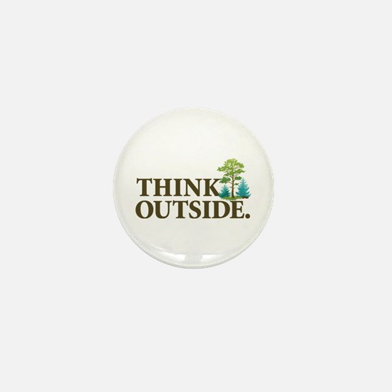Think Outside Mini Button