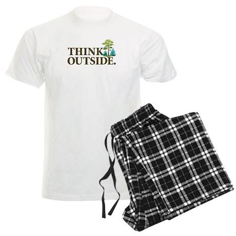 Think Outside Men's Light Pajamas