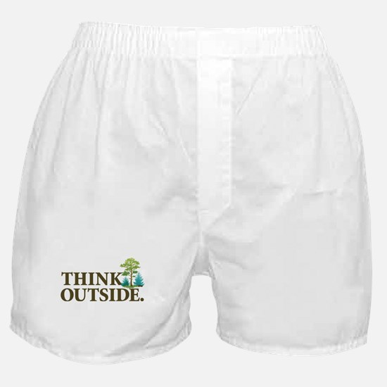 Think Outside Boxer Shorts