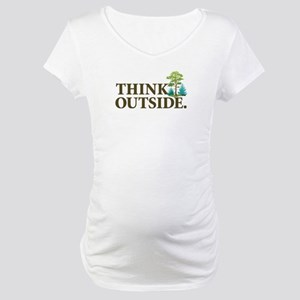 Think Outside Maternity T-Shirt