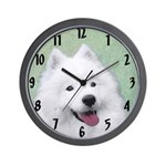 Samoyed Wall Clock