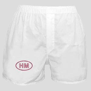 HM Pink Boxer Shorts