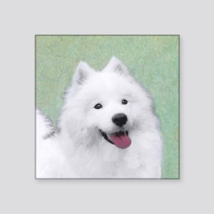 "Samoyed Square Sticker 3"" x 3"""