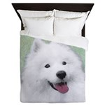 Samoyed Queen Duvet