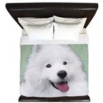 Samoyed King Duvet