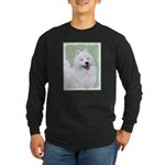Samoyed Long Sleeve Dark T-Shirt