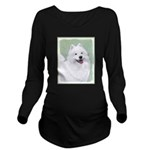 Samoyed Long Sleeve Maternity T-Shirt