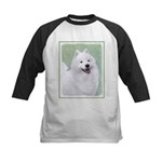 Samoyed Kids Baseball Tee
