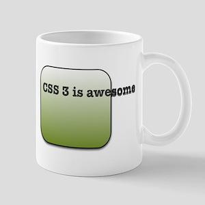 CSS3 Is Awesome Mug