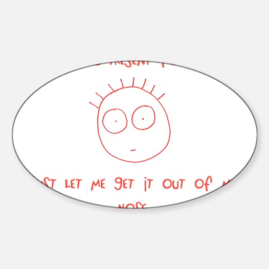 Freaky Kid Oval Decal