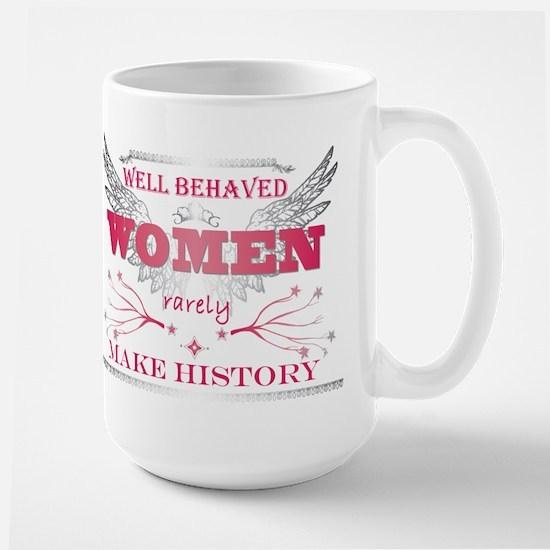 WellBehavedWomen_Pink Large Mug