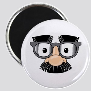 Funny Mustache Disguise Magnet