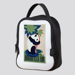 Panda at Brookfield Zoo Neoprene Lunch Bag