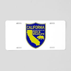 California Game Warden Aluminum License Plate