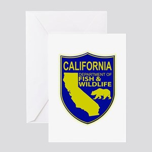 California Game Warden Greeting Card