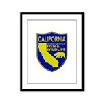 California Game Warden Framed Panel Print