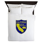 California Game Warden Queen Duvet