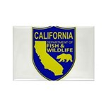 California Game Warden Rectangle Magnet (10 pack)