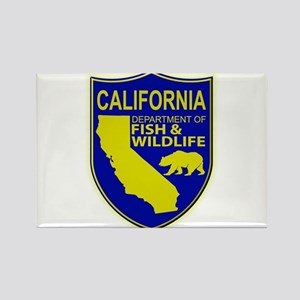 California Game Warden Rectangle Magnet