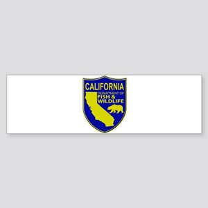California Game Warden Sticker (Bumper)