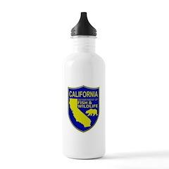 California Game Warden Water Bottle