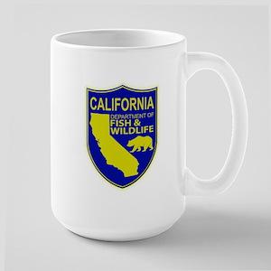 California Game Warden Large Mug
