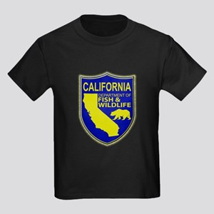 California Game Warden Kids Dark T-Shirt