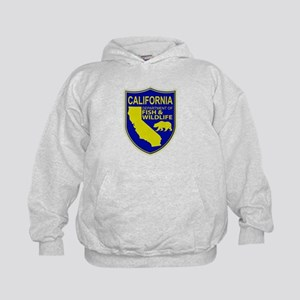 California Game Warden Kids Hoodie