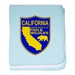 California Game Warden baby blanket