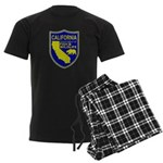 California Game Warden Men's Dark Pajamas