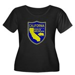 California Game Warden Women's Plus Size Scoop Nec
