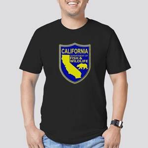 California Game Warden Men's Fitted T-Shirt (dark)