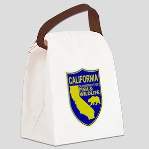 California Game Warden Canvas Lunch Bag