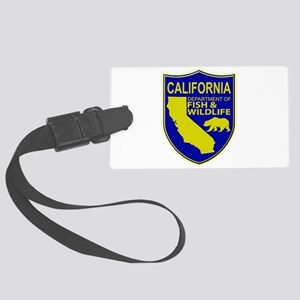 California Game Warden Large Luggage Tag