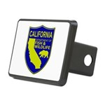 California Game Warden Rectangular Hitch Cover
