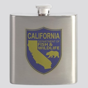 California Game Warden Flask
