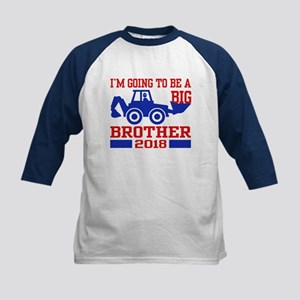 Big Brother 2018 Truck Kids Baseball Tee