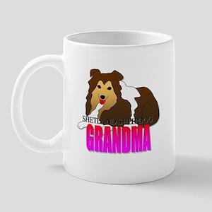 Shetland Sheepdog Grandma Mug