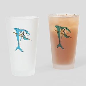 Pool Shark Drinking Glass