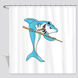 Pool Shark Shower Curtain