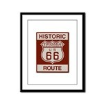 Fontana Route 66 Framed Panel Print