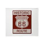 Fontana Route 66 Throw Blanket