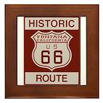 Fontana Route 66 Framed Tile