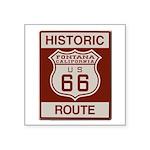 Fontana Route 66 Square Sticker 3