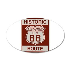 Fontana Route 66 Wall Decal