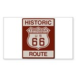 Fontana Route 66 Sticker (Rectangle 50 pk)