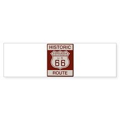 Fontana Route 66 Sticker (Bumper 50 pk)
